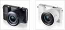 Samsung NX1000 in black and white