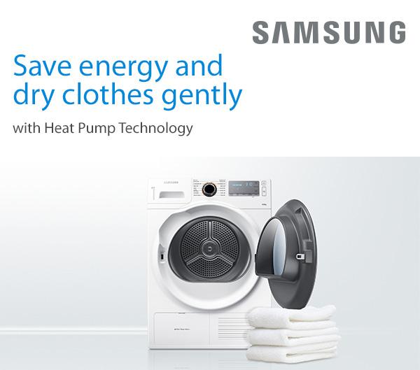 Samsung tumble dryers