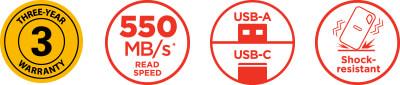 SSD range logos