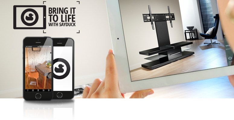 Bring your living room to life with the SayDuck App