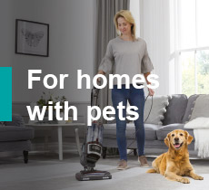 Shark for homes with pets