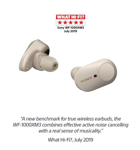 Sony WF-1000XM3 headphones