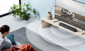 Home audio page