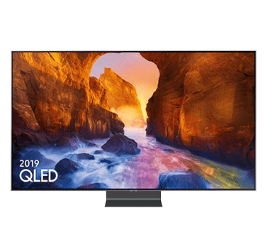 Samsung QLED TV. Photograph.