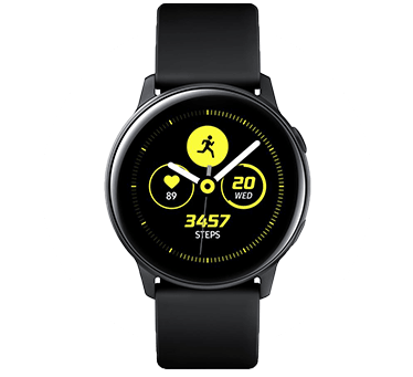 Samsung Galaxy Watch. Photograph.
