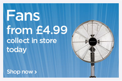 Fans from £4.99