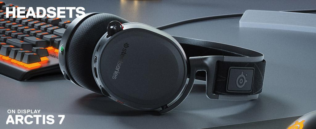 Steel series headsets