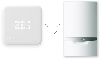 Tado connects to any heating system