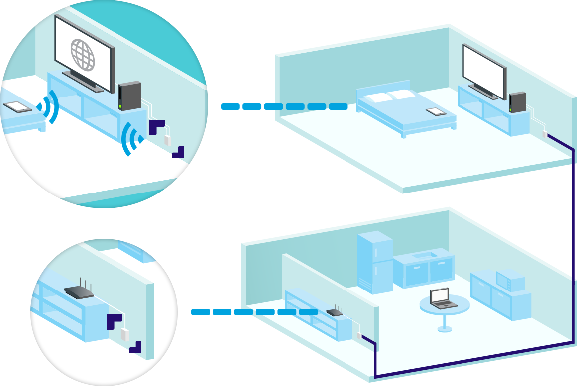 Tp Link Currys Tplink Powerline Diagram A Adaptor Uses Your Existing Electrical Circuit To Deliver Fast Connection Other Rooms In The House Without Losing Speed Or Performance