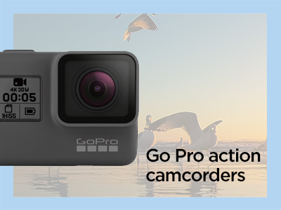 GoPro action camcorders