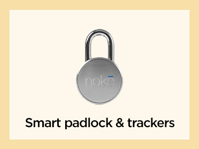Smart padlocks and trackers