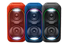MegaSound party speakers