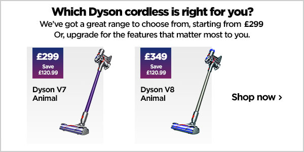 Which Dyson cordless is right for you?