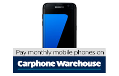 Pay monthly phones