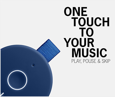 One touch to your music
