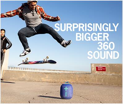 Surprisingly bigger 360 sound