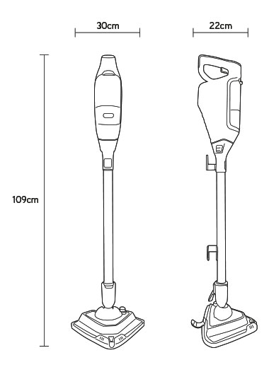 vax steam cleaner technical drawing
