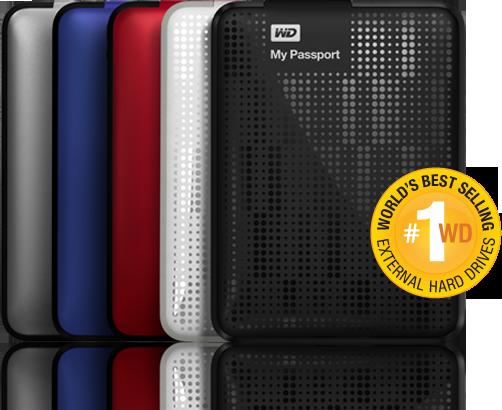 WD desktop storage