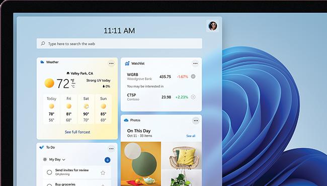 Windows 11 Tablet split screen