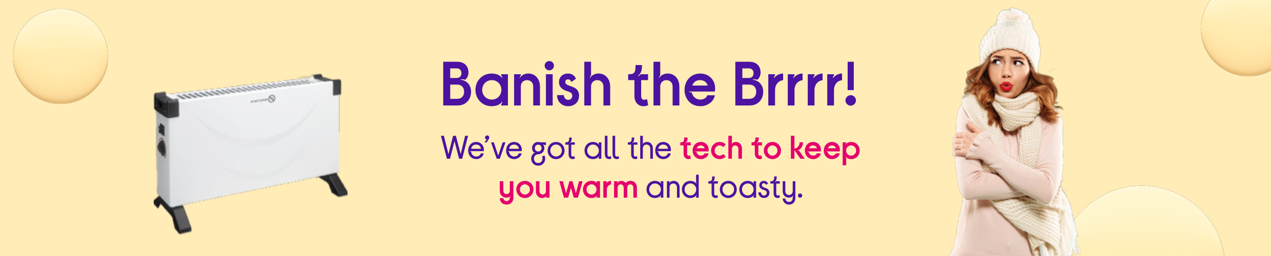 Banish the brrr with our winter tech