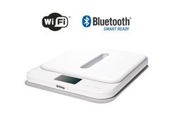 Syncs with Wi-Fi and Bluetooth.