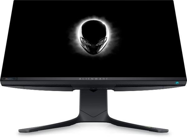 Alienware 360Hz Gaming Monitor with the Alienware logo onscreen
