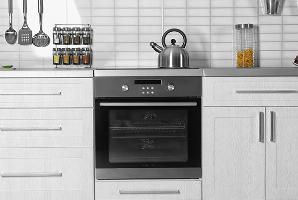 A built-in oven looks great in your kitchen!