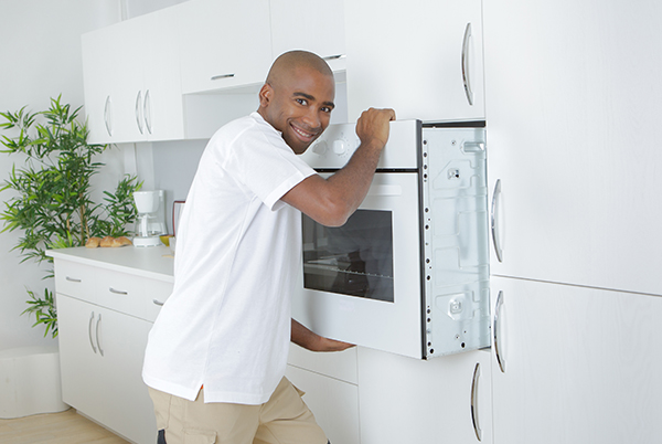 Installing a built-in oven is easy!