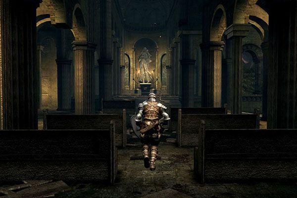 A screengrab from Dark Souls Remastered