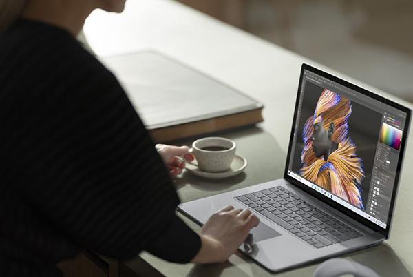 Surface Laptop 4 design