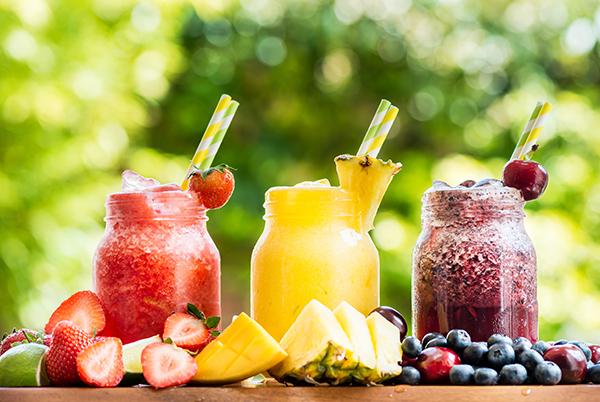 Fruit slushees