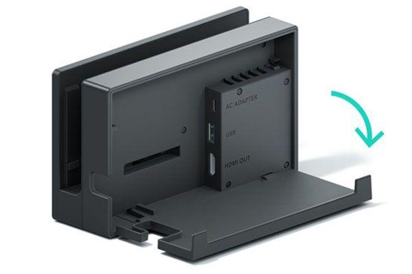 The Nintendo Switch TV docking station