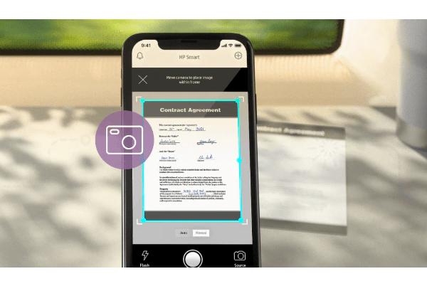 HP mobile app