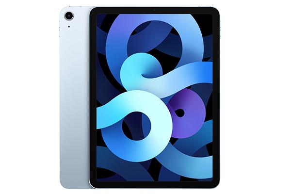 iPad has a big screen