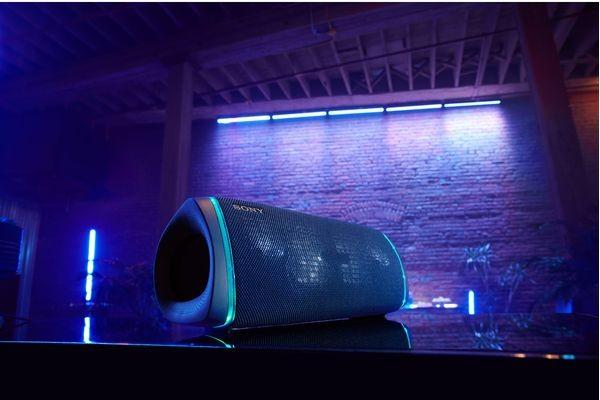 A Sony SRS-XB43 Portable Bluetooth Speaker